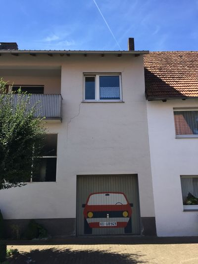 Architecture Auto Building Exterior Fassade Garage Garagentor Mode Of Transport Window