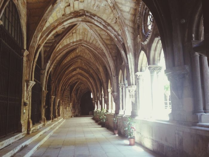 Let the light enter. Belém, Lisboa Claustro Art Sunlight Being A Tourist In My Country Pipas's Pics