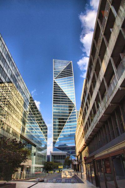 Paris La Defense Architecture Cityspaces