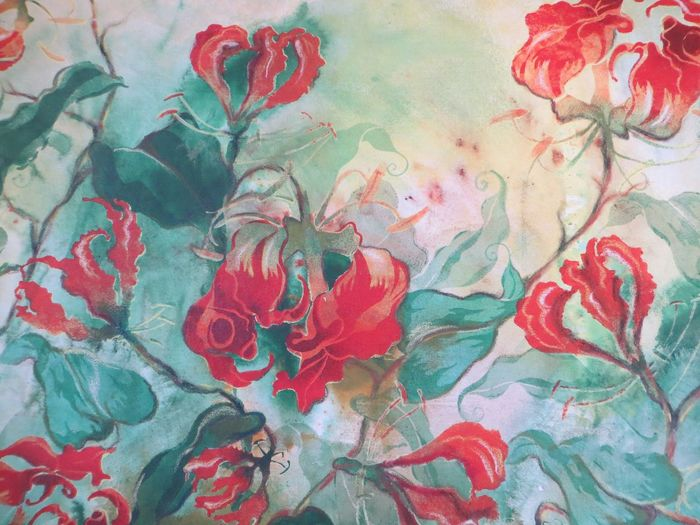 Abstract Backgrounds Close-up Day Flower Flower Painting Multi Colored No People Outdoors Painted Image Pattern