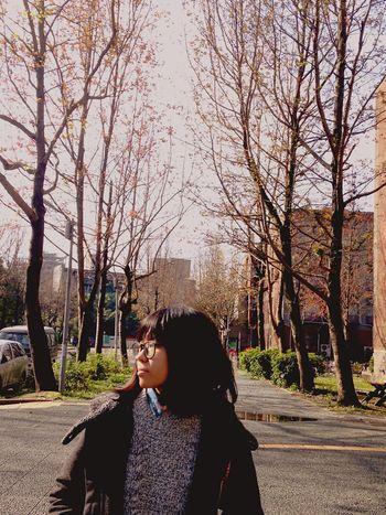 2016.02.28 Ntu National Taiwan University Main Street Nature Comfortable Beauty My Girl Love You Enjoying Life My Love My Sweetie Kiss