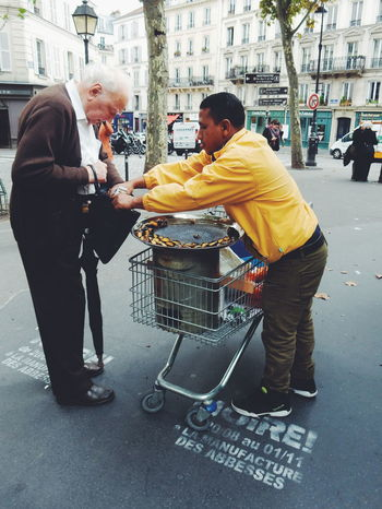 The Street Photographer - 2016 EyeEm Awards Paris, France  Neigborhood Paris, France  Food And Drink Streetphotography Street Photography People City Life Shopping Street Market Stall Paris Paris, France  Chestnut Chestnuts EyeEm Diversity
