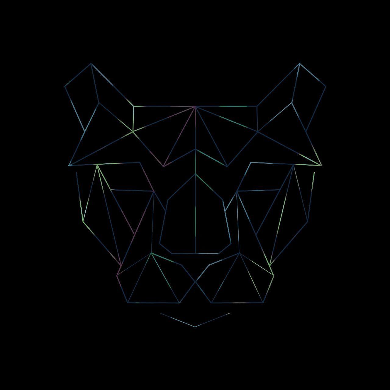 geometric shape, symmetry, black background, night, pattern, abstract, studio shot, black color, no people, illuminated, blue, geometry, close-up