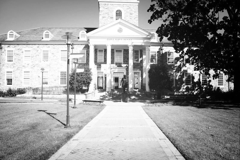 The legendary Holmes Hall Morgan State