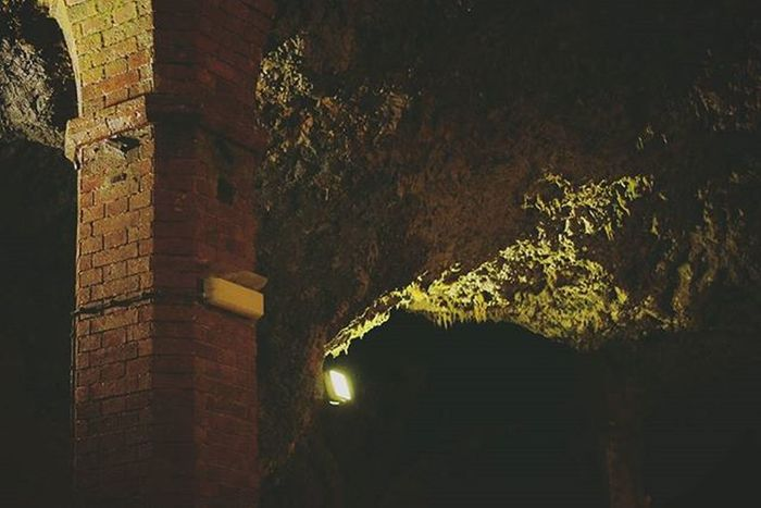 SaltGrotto . Tunneling System . Beautiful Architecture and Design . under the AlteSaline OldSaltWorks SaltRefinery . Salz Salt Museum . Badreichenhall Bavaria Bayern Deutschland Germany . Taken by my Sonyalpha DSLR Dslt A57 . متحف ملح بايرن المانيا