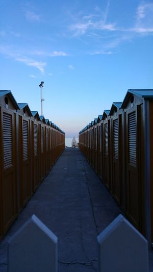 """ Dressing cabins "" . Dressing Room Beach Sea Sea And Sky Sky Skyporn Focus On Foreground No People Light And Shadow Enjoying Life Relaxing Capture The Moment Taking Photos From My Point Of View Check This Out Eyeemphotography EyeEmBestPics EyeEm Gallery Eye4photography  EyeEm Best Shots Italy Sunset EyeEm Best Shots - Landscape Fine Art Photography Pivotal Ideas"