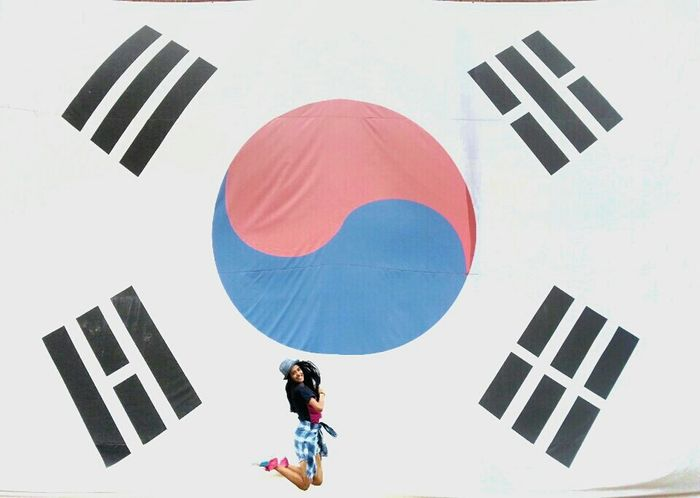 Enjoying Life Everyday Joy Taking Photos That's Me Feeling Blessed Seoul South Korea Nation Flags