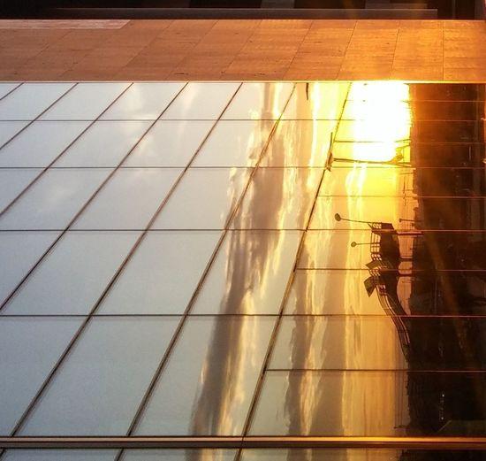 Sunlight Sunset Mirror Mirrorworld Reflections Windows