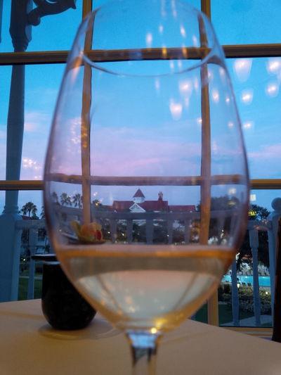 Close-up Dinnergrandfloridianhot Disneygrandfloridian DisneyWorld Napachardonna Sky Wine Wineglass
