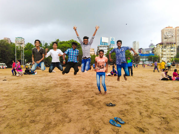 Fun unlimited at Marine drive || Mumbai || India Celebration Child Large Group Of People Boys Young Adult Full Length Women Young Women Happiness Girls Fun People Beauty Adult Men Party - Social Event Friendship Group Of People Sport Cheerful Summer Nature Frosted Glass Washing Scenics