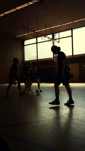 EyeEm Dodgeball 2014 just got a dodgeball on his feet. Rino is Pissed !