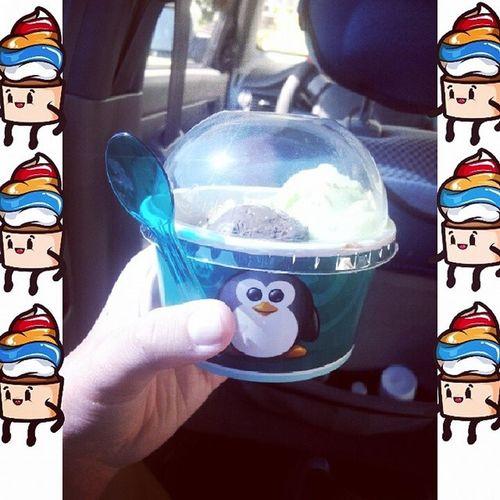 мороженко нямням 33пингвина Instasize