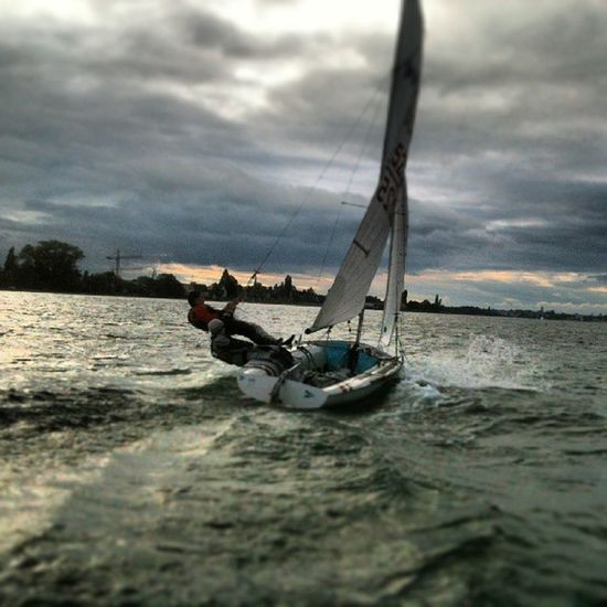 420er Training Lake Constance awsome