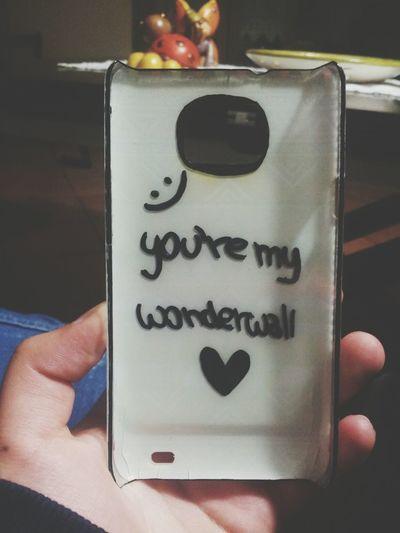 You're My Wonderwall Oasis Love