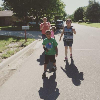 Family Love Boymom Energy Walking