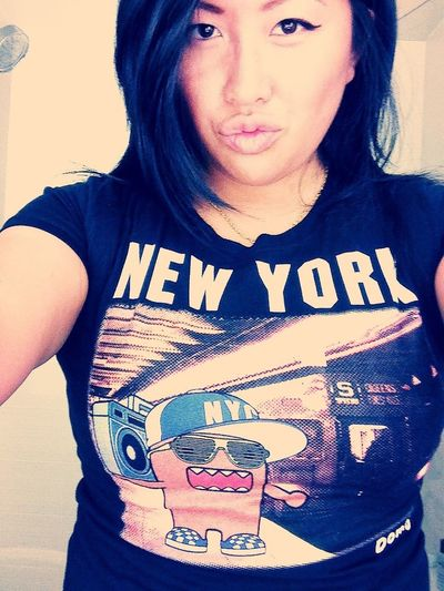 repping nyc ! besos