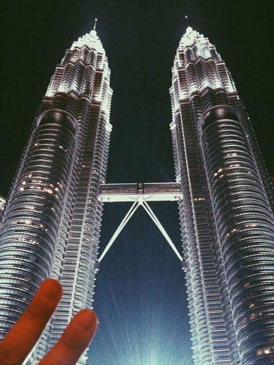 Kuala Lumpur at night Malaysia City Architecture Building
