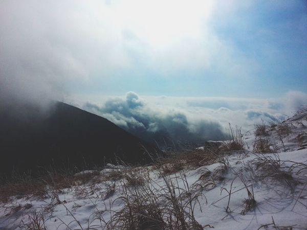 The Great Outdoors - 2015 EyeEm Awards OpenEdit Mountains Mountain View Gwangju Taking Photos Hiking Clouds Nature Photography