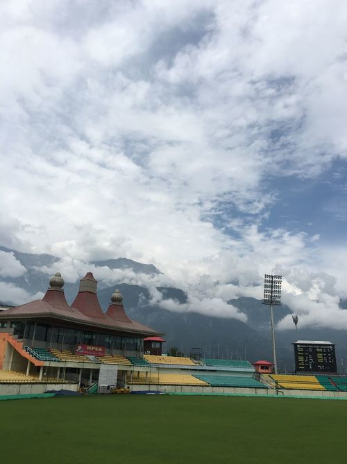 Dharamshala cricket stadium Cloud - Sky Cricket! Stadium Sports Photography