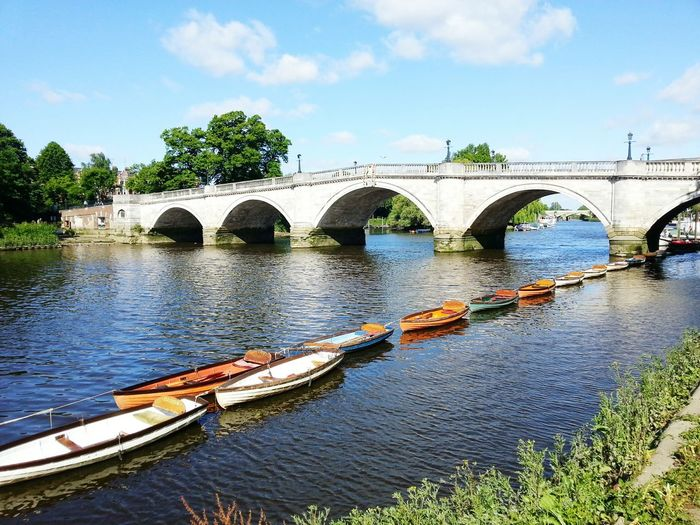 Richmond bridge, another beautiful place in London