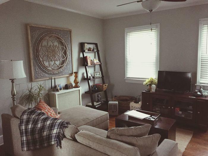 Long Island Home Interior Pier1imports Macys Couch Bookshelf Wall Art Ecclectic