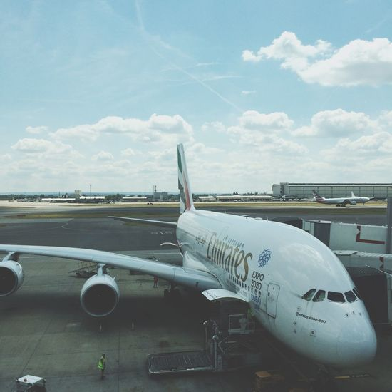 from London to wherelse ? Airport Plane London Catching A Flight