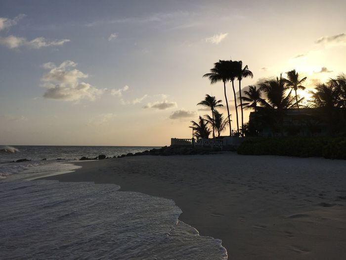 First Bajan Sunset Sunset
