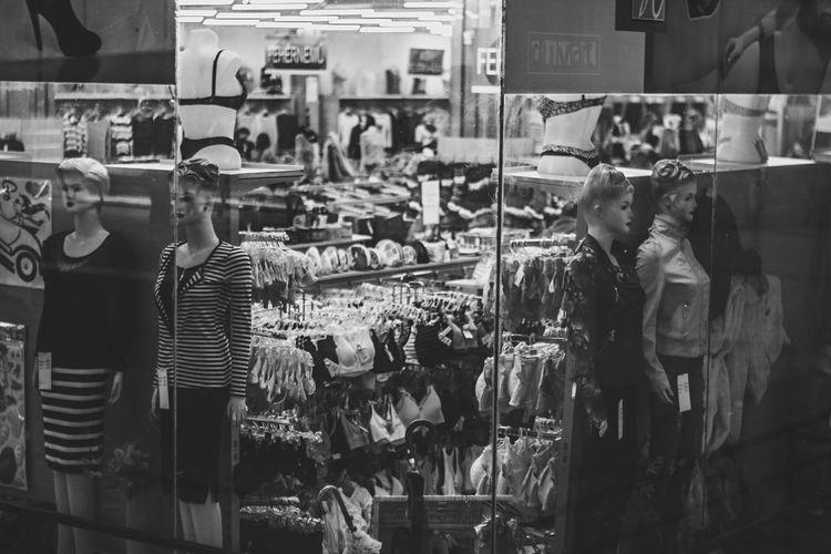 Streetphoto_bw Streetphotography Blackandwhite Blackandwhite Photography Black & White Blackandwhitephotography Urban Mannequin Mirror January : Showcase