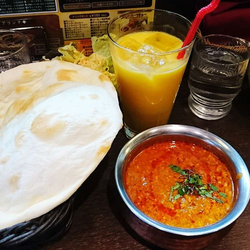食べもの Foods Food Curry カレー ナンカレー Naan Naanbread ナン インドの恵み