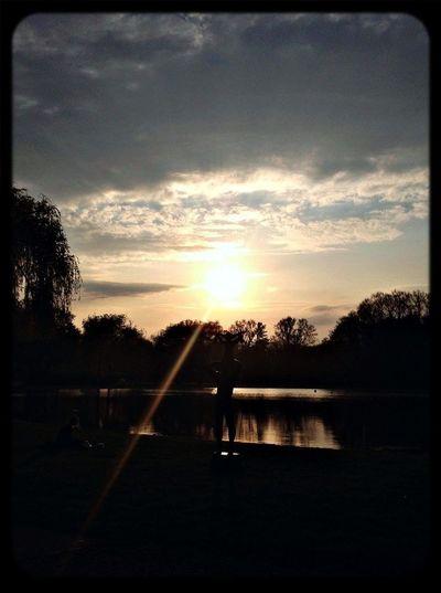Sunset Enjoying The Sun Sundown
