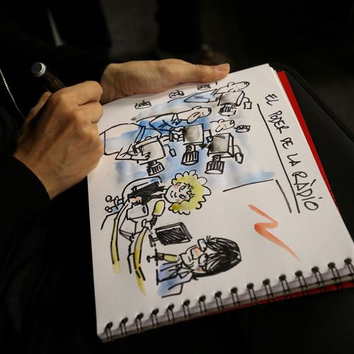 Caricature Caricatura Catalunyardio Carlespuigdemont Monicaterribas