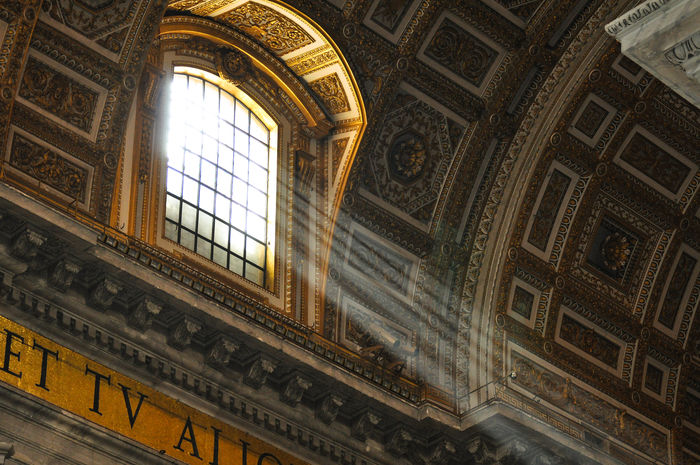 God's light in the Vatican Rome Italy rome- Architecture Building Design God Historic History Holly Italy Kings Light And Shadow Museum Rome Tourism Travel Destinations Vatikan Fine Art Photography On The Way