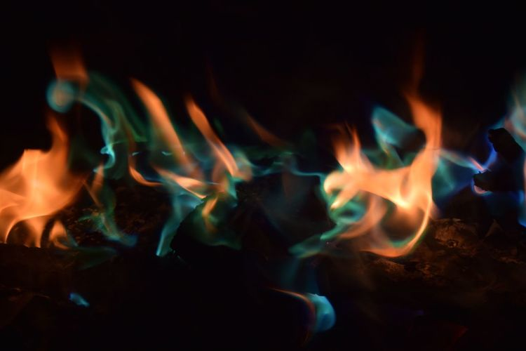 Fine Art Photography Fire Colorful Colors