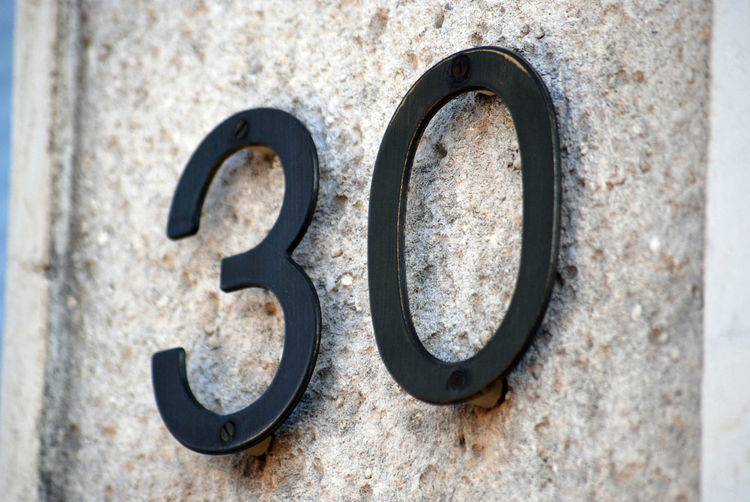 house number 2⃣5⃣ 30 Close-up Day Door Number House Number No People Number Outdoors