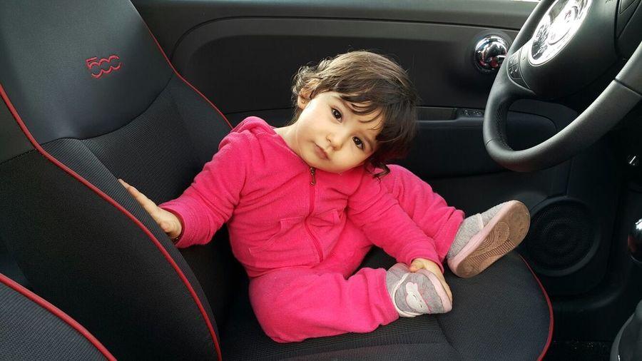 Childhood Beauty Dauther Baby ❤ Baby Cars Sportwears Morrocain People Marokko Maroc Morocco Fiat500