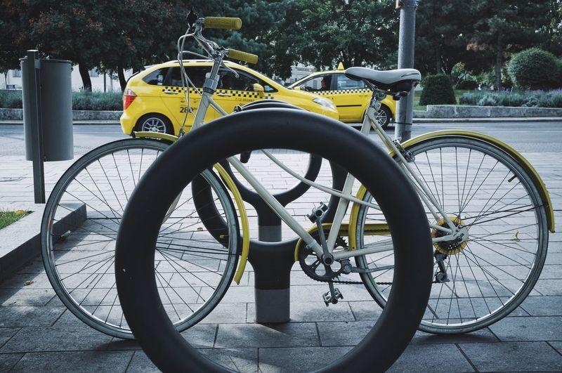 Taxi Bike Bicycle Taxivsbike City Budapest