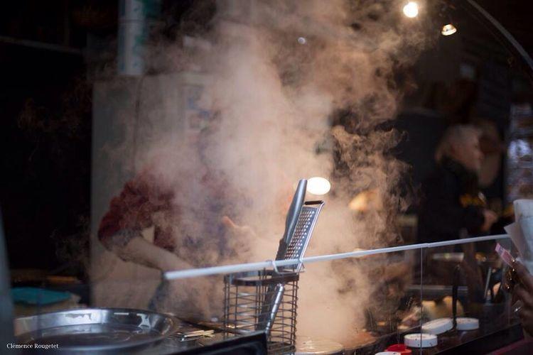 Marché des enfants rouges, Paris 3e. Food Streetphotography Blackandwhite Paris Black And White Street Photography Portrait Le Marais Marche Des Enfants Rouges Follow