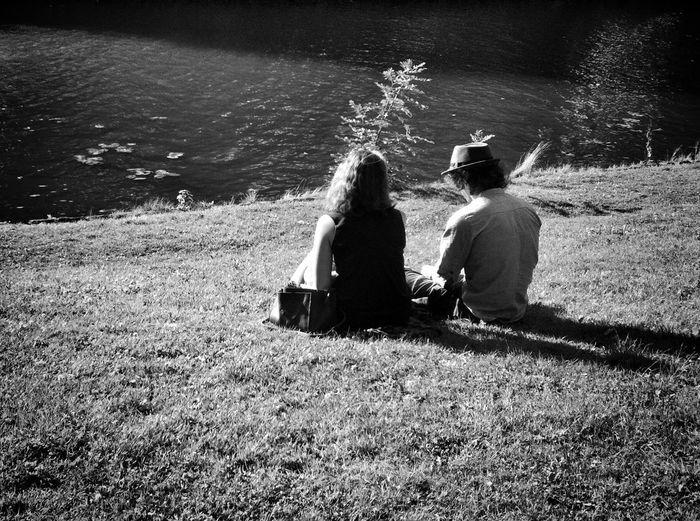 | •It's hard to make a conversation when he talking my breath away.• | Streetphotography Streetphoto_bw AMPt_community EyeEm Best Shots