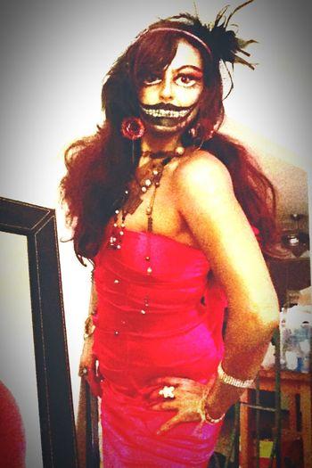 Halloween RaKaTphoto RaKaTgallery Costume Ilovehalloween Costumemakeup Skullcandy Scary Face