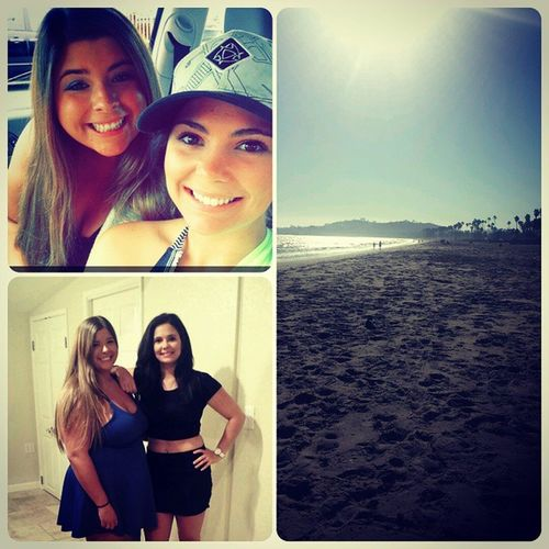 Sad to leave Santa Barbara and SLO. Thanks @ashbabyayers @sophiiiebasa for letting us stay at your house. Even though the concert was canceled we made the best of it @tiffanyjade02 Lovethebeach Stupidconcert