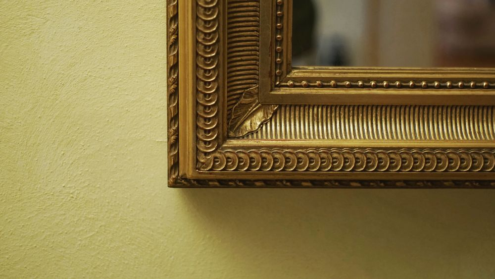 Sony Alpha 6000 No People Day Close-up Mirror Frame Framed Framedmirror Gold Golden Yellow Background Yellow Golden Mirror Sony A6000 Sony Sonyalpha Reflections Like4like Like4likes Like Likes Followforfollow Followme Likeforfollow Light Follow4follow
