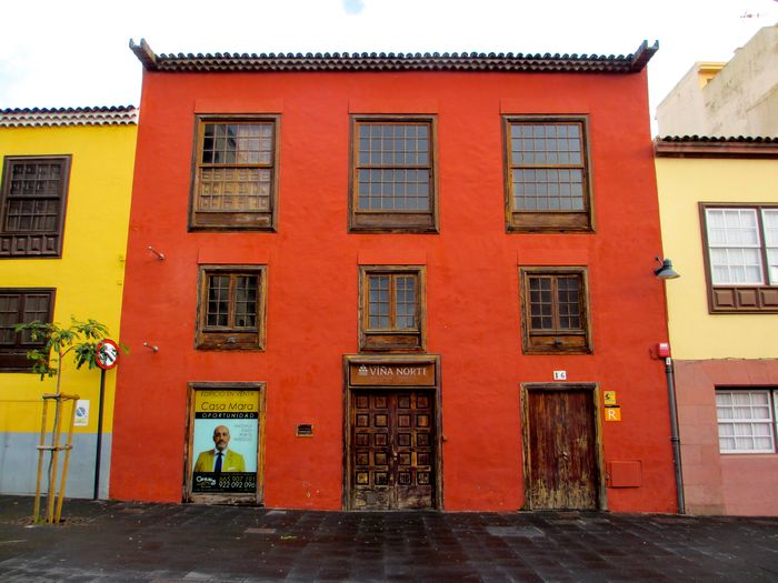 Red House Art Photography La Laguna Red Art Red Color Red House Tenerife Wooden Windows