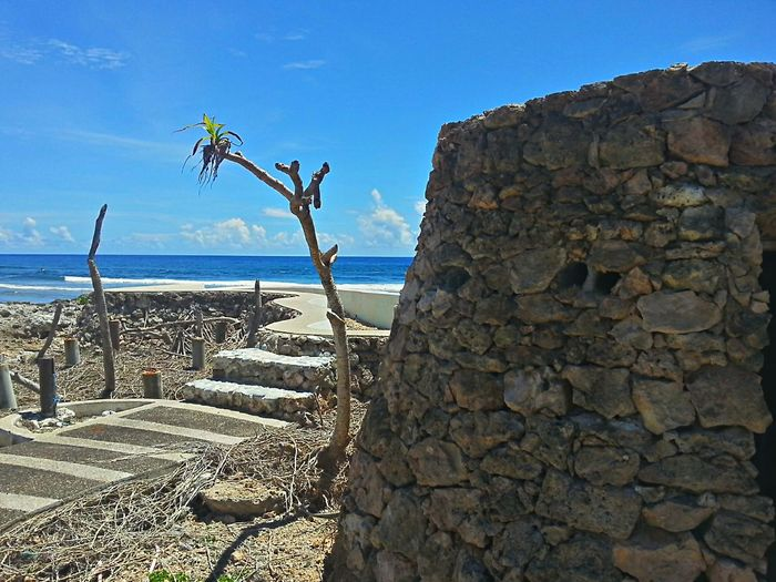 the infinity pool after the haiyan storm surge Eyeem Philippines Eye4photography  Light And Shadow Geometric Shapes