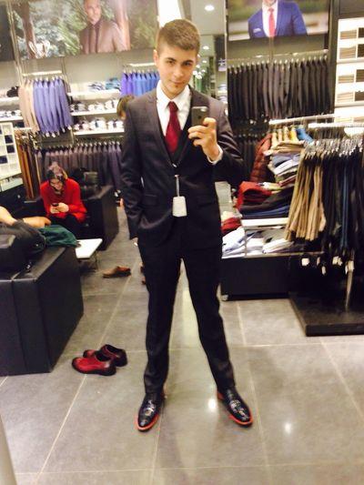 Selfie Man Model Hello World