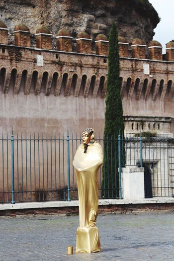 Egyptian Art Rome Italy🇮🇹 Rom Streetart Statue Human Representation Sculpture Travel Destinations Art And Craft History Female Likeness Built Structure Tourism Travel Outdoors Moving Around Rome Modern Workplace Culture