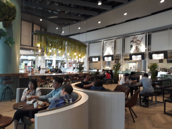 in the food court this is the best place Food And Drink Mall Alam Sutera Activity Alamsutera Full Length Luxury Customer  Sitting Chair Retail  Store City Home Showcase Interior Seat Prepared Food Serving Size