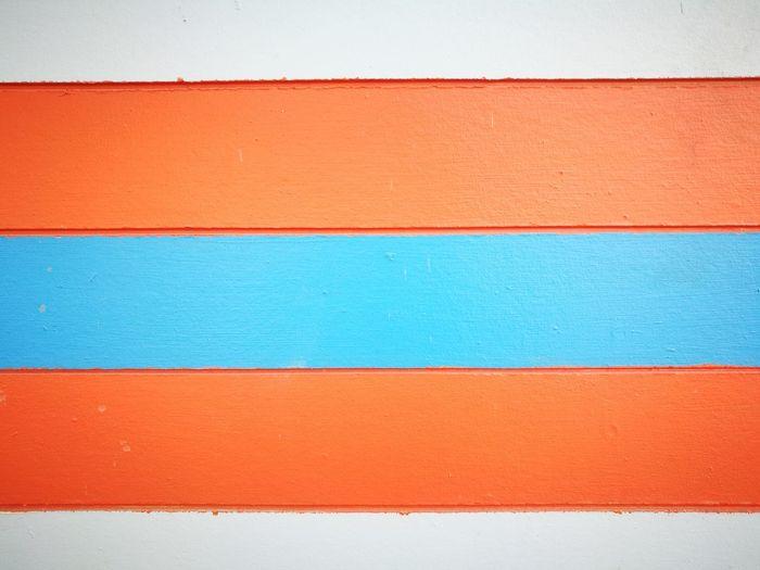Full frame shot of orange wall
