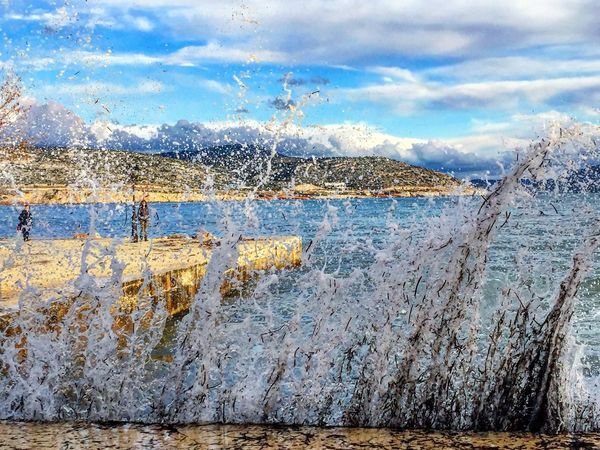 Check This Out Taking Photos Enjoying Life Seascape Waves Breaking On A Shore Sea Port Waves Crashing Waves Life Is A Beach Seaside In Greece Greece Eyeemphotography