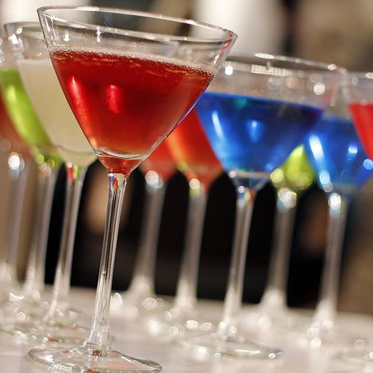 cocktail, alcohol, drink, martini glass, martini, drinking glass, food and drink, refreshment, close-up, no people, champagne, red, bar - drink establishment, indoors, tropical drink, freshness, mojito, liqueur, day