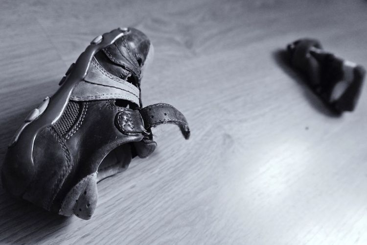 Shoe & sock... Made In Romania Blackandwhite EyeEm Best Shots Eye4photography  Enjoying Life Relaxing Taking Photos Monochrome Photo Vscocam
